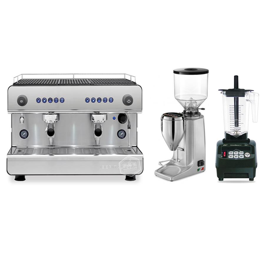 Set Iberital IB7 Compact+Quamar M80 E+JTC 800