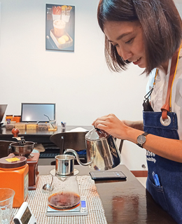 horizon barista course