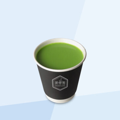 Hot Green Milk Tea