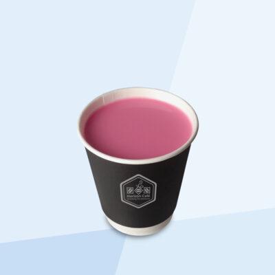 Hot Rose Milk Tea